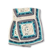 Bernat Country Snow Window Afghan