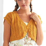 Go to Product: Patons Cable Lace Bolero, XS in color