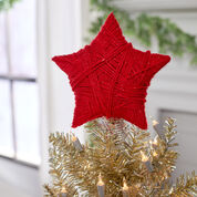 Red Heart Crafty Star Tree Topper