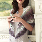Go to Product: Patons Pretty Triangle Shawl in color