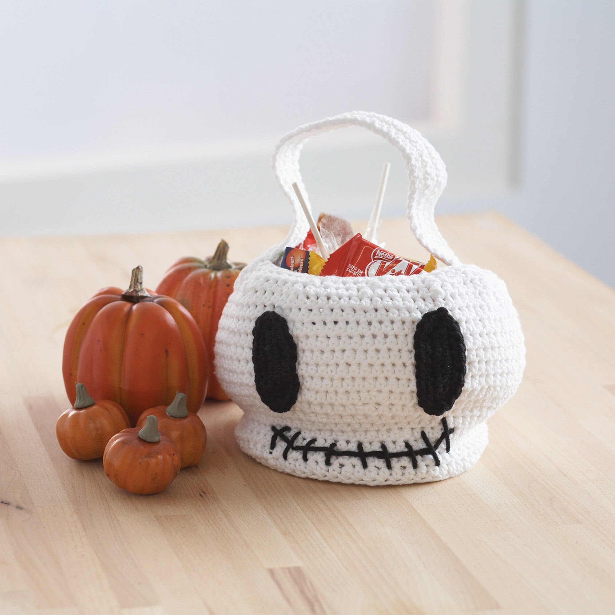 LILY SUGAR'N CREAM SKULL TRICK OR TREAT BAG