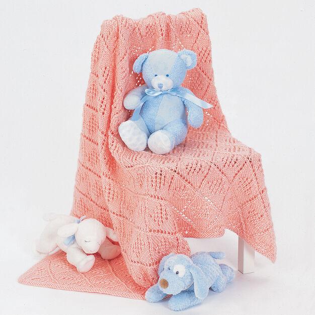 Bernat Baby Blanket in color