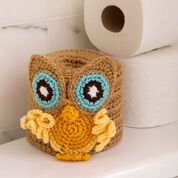 Go to Product: Red Heart Retro Owl Toilet Roll Cover in color