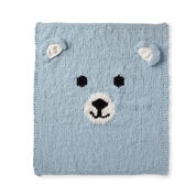 Bernat Bear-y Cozy Knit Blanket