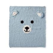 Bernat Bear-y Cozy Knit Blanket