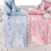 Bernat Dream Time Motif Blanket, Girls