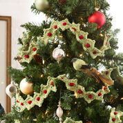 Go to Product: Red Heart Christmas Tree Garland in color