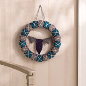 Go to Product: Red Heart Argyle for Dad Wreath in color