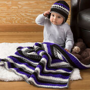Go to Product: Red Heart Baby Dude Blanket & Hat in color