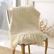 Go to Product: Red Heart Aran Nosegay Crochet Throw in color