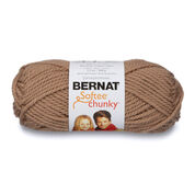 Go to Product: Bernat Softee Chunky Yarn (100g/3.5oz) in color Soft Taupe