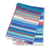 Go to Product: Caron Sampler Blues Crochet Afghan in color