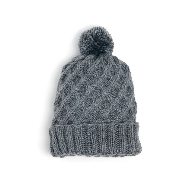 Caron Travelling Lines Knit Hat in color