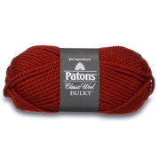 Go to Product: Patons Classic Wool Bulky Yarn, Vermillion Red in color Vermillion Red