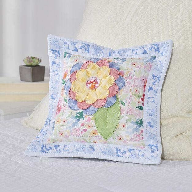 Dual Duty Flower Petal Pillow- 3-dimensional in color