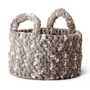 Bernat Woven Look Crochet Basket
