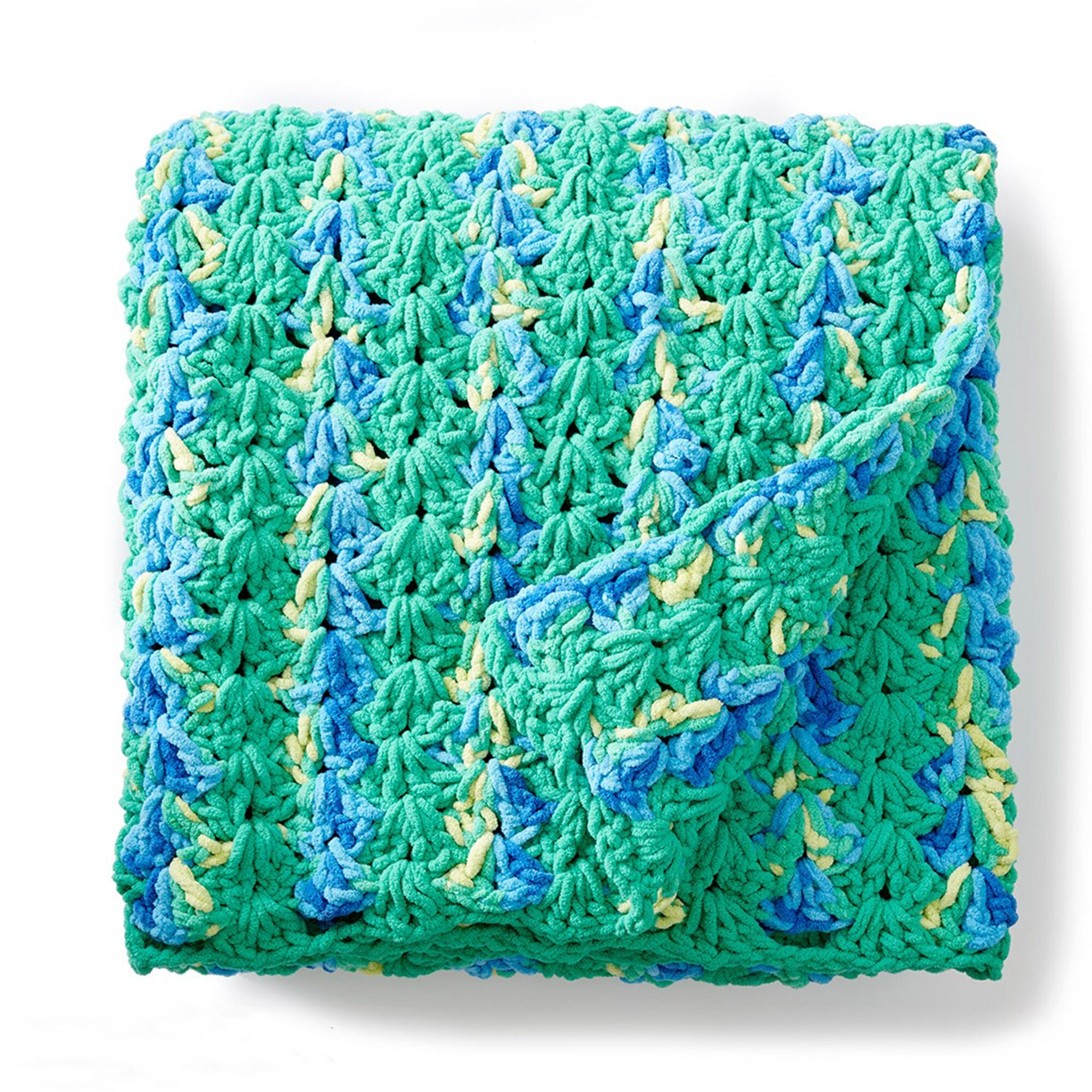 Bernat Bright and Easy Crochet Blanket | Yarnspirations