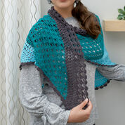 Red Heart Changing Colors Shawl