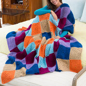 Go to Product: Red Heart Stitch a Hug Cozy Throw in color