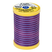 Coats & Clark Cotton Machine Quilting Multicolor Thread 225 yds, Plum Shadows