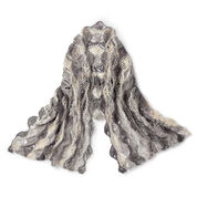 Go to Product: Caron Fan Shells Crochet Shawl in color