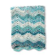 Caron Wave Hello Crochet Blanket