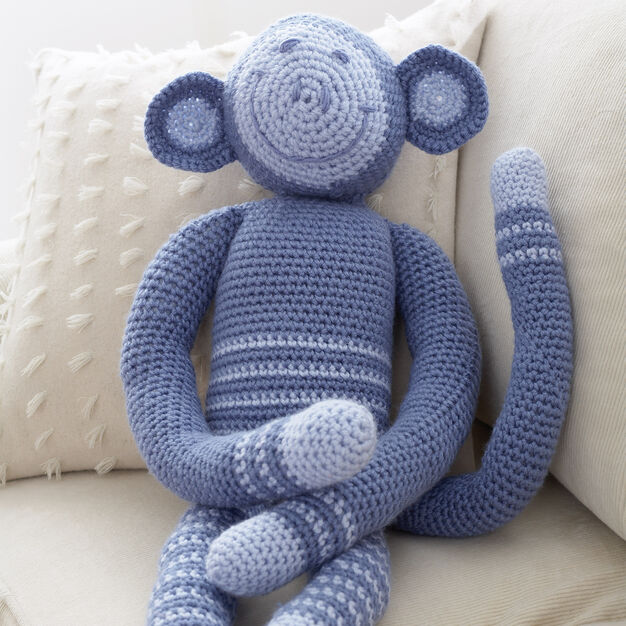 Patons Crochet Monkey - Decor in color