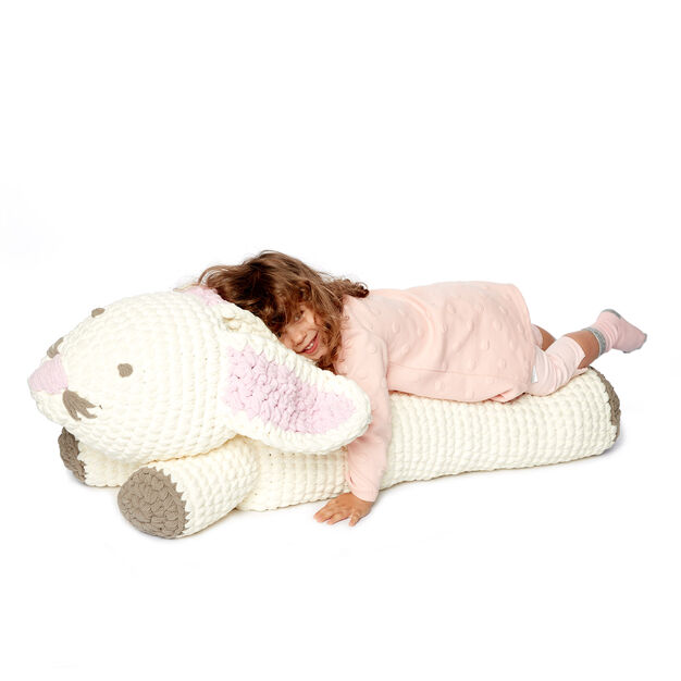 Bernat Crochet Bunny Floor Pillow