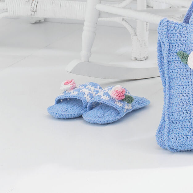 Lily Sugar'n Cream Mule Slippers, S in color