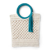 Go to Product: Lily Sugar'n Cream Crochet Beach Party Bag, Tangerine in color