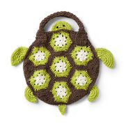 Lily Sugar'n Cream Crochet Sea Turtle Tote Bag