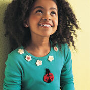 Go to Product: Red Heart Ladybug & Flower Appliques in color