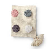 Go to Product: Bernat Loopy Dots Crochet Blanket in color