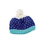 Go to Product: Red Heart Snow-Speckled Hat, M in color