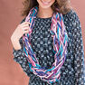 Red Heart Arm-Knit Chic Cowl in color