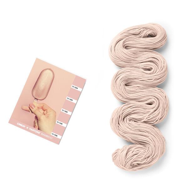 Caron x Pantone Bamboo Yarn, Peachy Keen