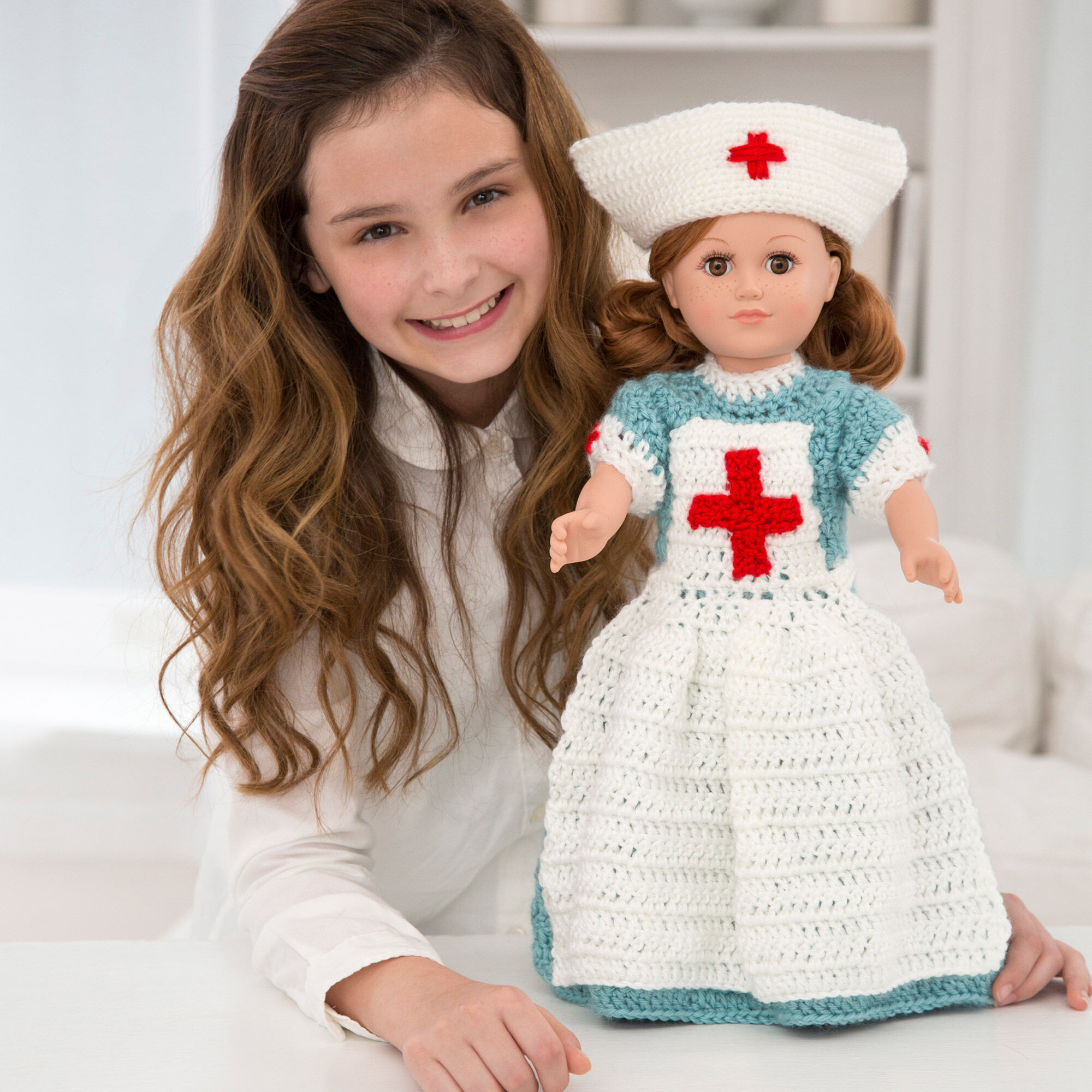 Judith the nurse amigurumi pattern by Sahrit (With images ... | 2000x2000
