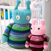 Go to Product: Red Heart Adorable Aliens, Blue in color