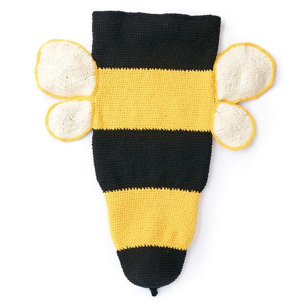 d6331be77b7 Bernat Bumble Bee Crochet Snuggle Sack