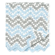 Bernat Ripple Waves Crochet Blanket