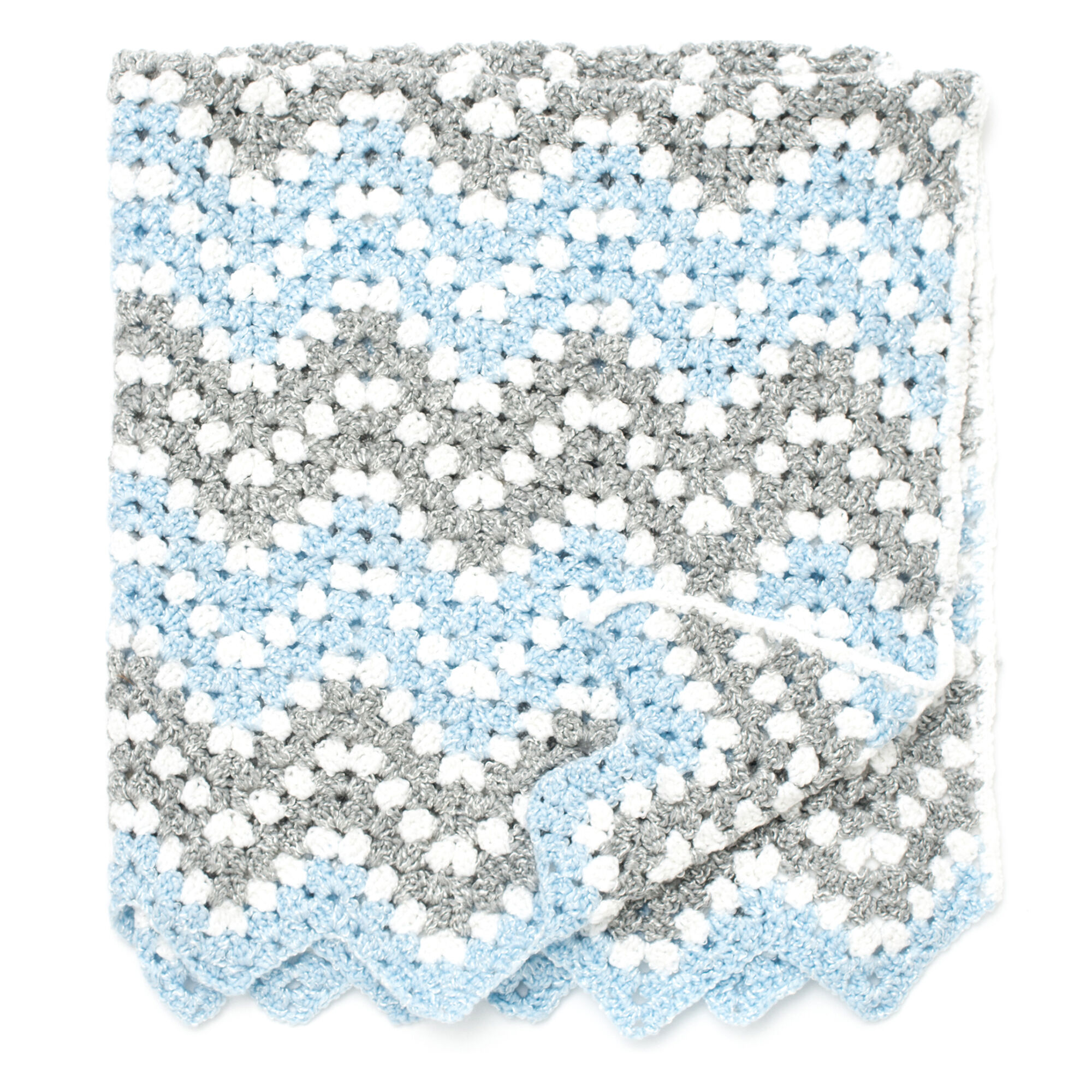 Bernat Ripple Waves Crochet Blanket | Yarnspirations