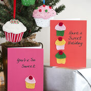 Go to Product: Aunt Lydia's Cupcakes Holiday Cards in color