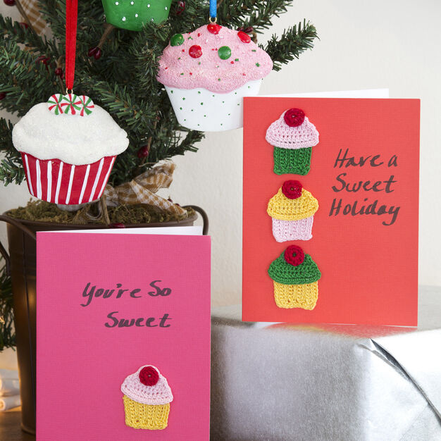 Aunt Lydia's Cupcakes Holiday Cards