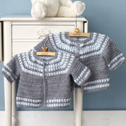 Go to Product: Patons Cluster Yoke Cardigan, 3 mos in color