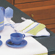 Go to Product: Lily Sugar'n Cream Striped Pot Holder in color