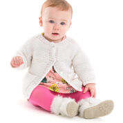 Red Heart Year-Round Baby Cardigan, 6 mos