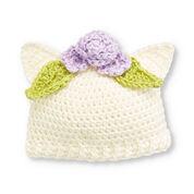 Caron Kitten Hat, 6-12 mos.