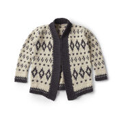 Go to Product: Patons Baltic Crochet Cardigan, XS/S in color