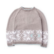 Go to Product: Patons Graphic Snowflake Knit Sweater, XS/S in color