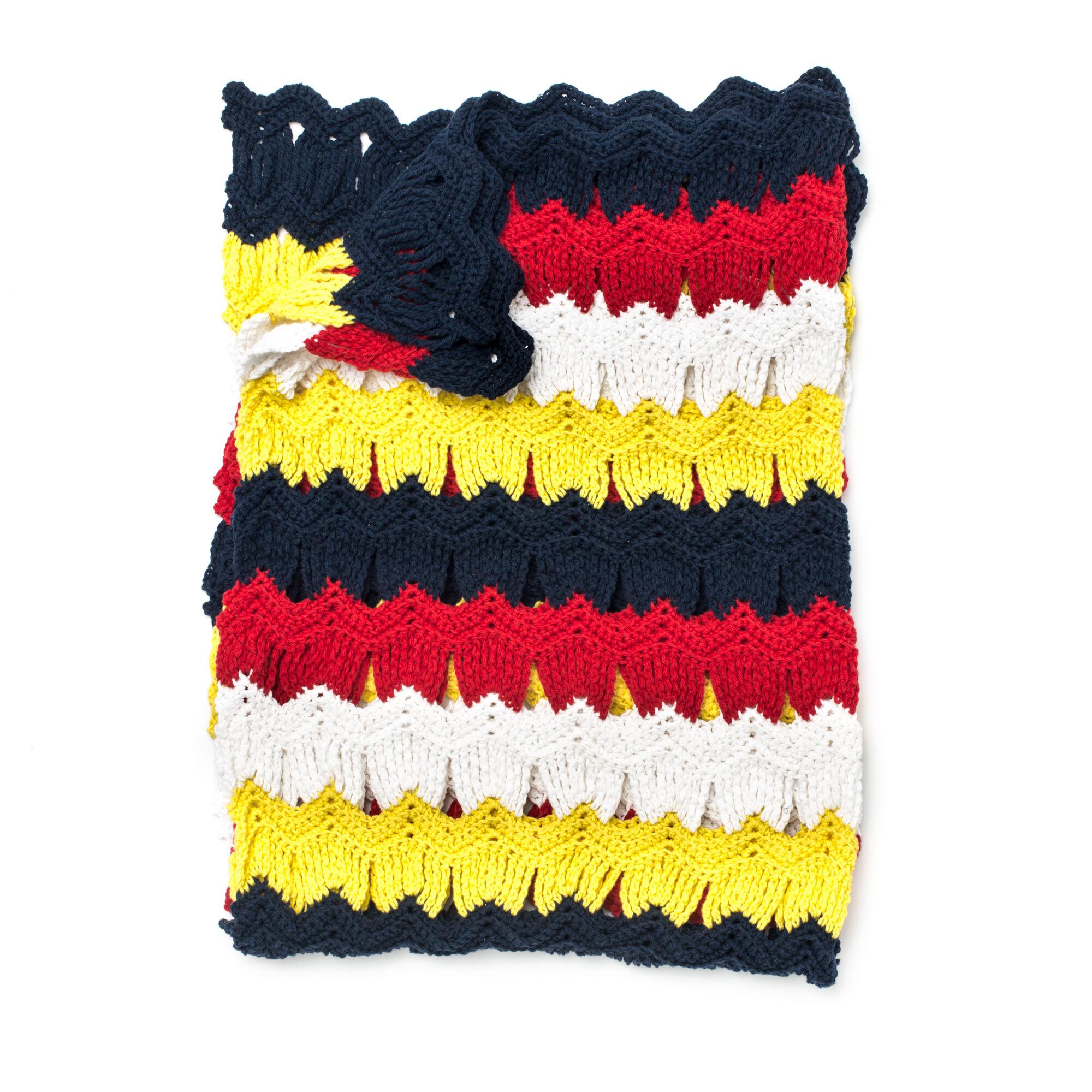 Bernat Seashells By The Seashore Crochet Blanket Yarnspirations